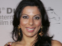Pooja Bedi says she loves the fact that her new fiance has nothing to do with showbiz.