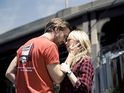 Derek Cianfrance praises the performances of Michelle Williams and Ryan Gosling in Blue Valentine.