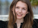 Hannah Murray says that she is excited to be in Cannes and is honored by her film's success.