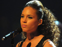 Alicia Keys' fiance Swiss Beatz admits that he was amazed by her performance at the BET Awards.