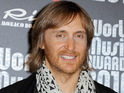 David Guetta previews a new track as part of a DJ set in Brazil.