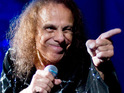 Over 1,500 fans of the late Ronnie James Dio gather at a Los Angeles cemetery to pay their respects.