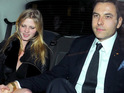 Comedian David Walliams marries Dutch model Lara Stone at Claridge's hotel in London.