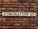Coronation Street stars are spotted filming at a Manchester crematorium.
