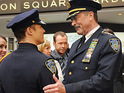 The showrunner on upcoming CBS police drama Blue Bloods leaves the series.