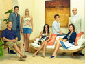 The executive producer of Cougar Town reveals that he has no plans to break up Jules and Grayson.