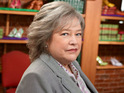 "Kathy Bates claims that she is a ""curmudgeon"" like her character on NBC's Harry's Law."