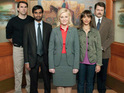 The cast of Parks & Recreation insist that they are happy with the show's move to midseason.