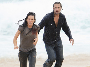 Kate and Sawyer from the Lost: The End