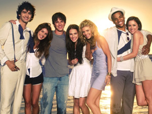 The cast of 90210