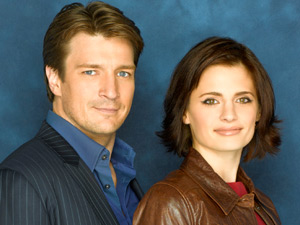Richard Castle and Kate Beckett from Castle