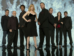 The cast of CSI: Crime Scene Investigation
