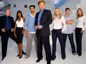 The cast of CSI: Miami
