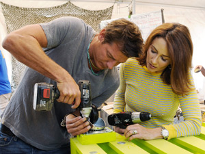 Ty Pennington on Extreme Makeover Home Edition