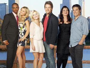 Cast of Happy Endings