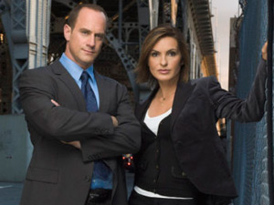 Det. Elliot Stabler and Det. Olivia Benson from Law & Order Special Victims Unit