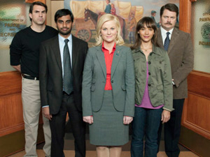 The cast of Parks & Recreation