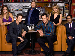 The cast of Rules Of Engagement