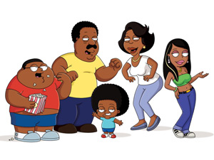 The cast of The Cleveland Show