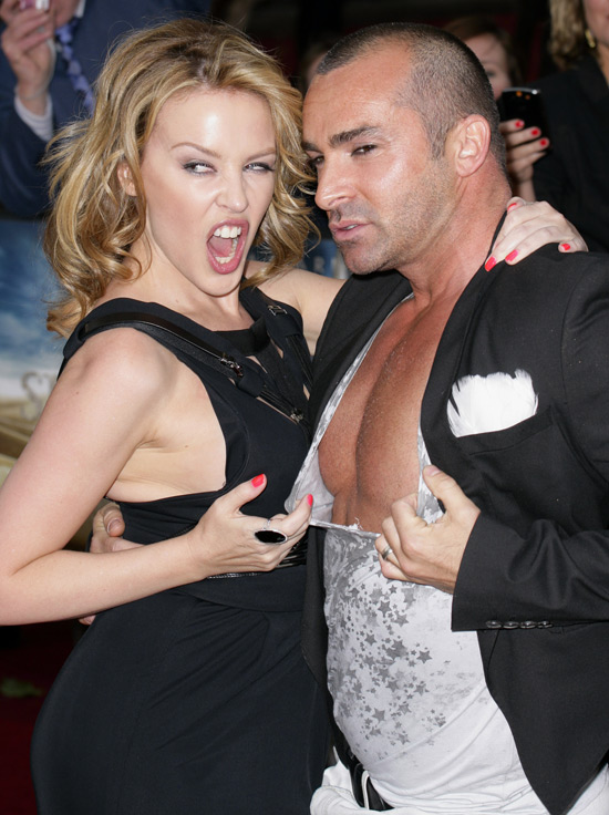 Kylie and Louie Spence