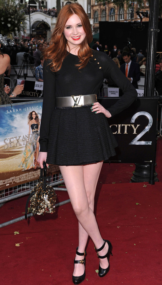 Doctor Who companion Karen Gillan