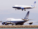 United Airline aircraft