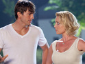 Katherine Heigl says that Ashton Kutcher was unimpressed that she wouldn't do her own stunts.