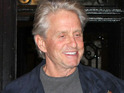 Michael Douglas says that he is determined to overcome his cancer diagnosis.