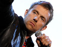 Damon Albarn admits that he was upset to miss out on a No.1 album to Boyzone's latest.