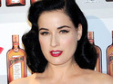 Dita Von Teese reveals that network executives were worried by the amount of cleavage she showed on CSI.