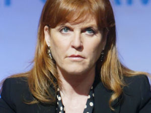 The Duchess of York, Sarah Ferguson promoting her books at New York City's Book Expo America
