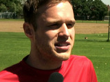 Olly Murs at Soccer Aid