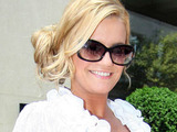 Kerry Katona leaves the May Fair hotel