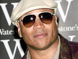 LL Cool J at a book signing held at a London Waterstone's store