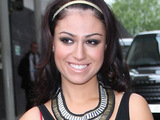Gabriella Cilmi outside the ITV studios