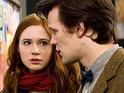 Richard Curtis explains that he likes the dynamic between Matt Smith and Karen Gillan on Doctor Who.