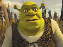 Jeffrey Katzenberg impersonates Shrek Forever After's Butter Pants.