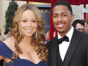 Mariah Carey and Nick Cannon renew their wedding vows following the birth of their newborn twins.