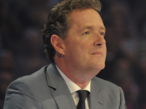 Judge Piers Morgan in Monday's semi-final