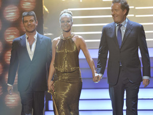 Amanda Holden, Piers Morgan and Simon Cowell in Britain's Got Talent: Semi-Final 2