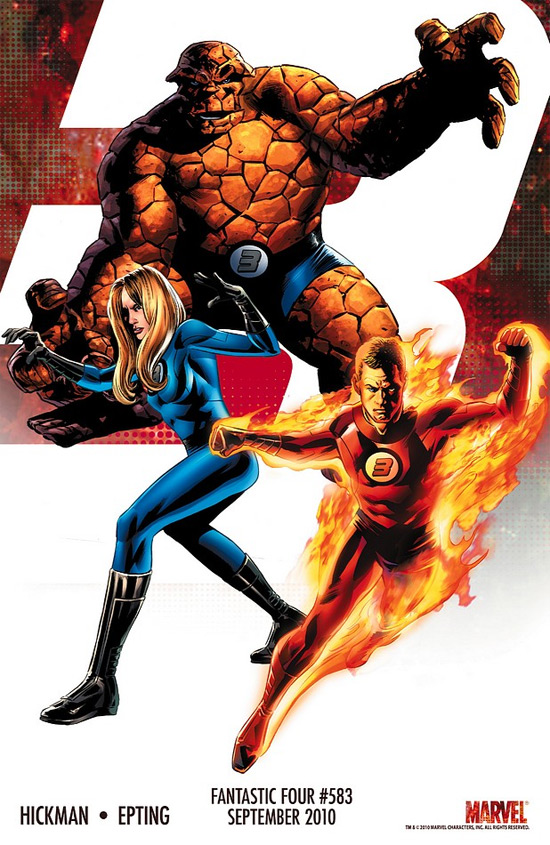 Comics Gallery: Fantastic Four 'Three' Teasers