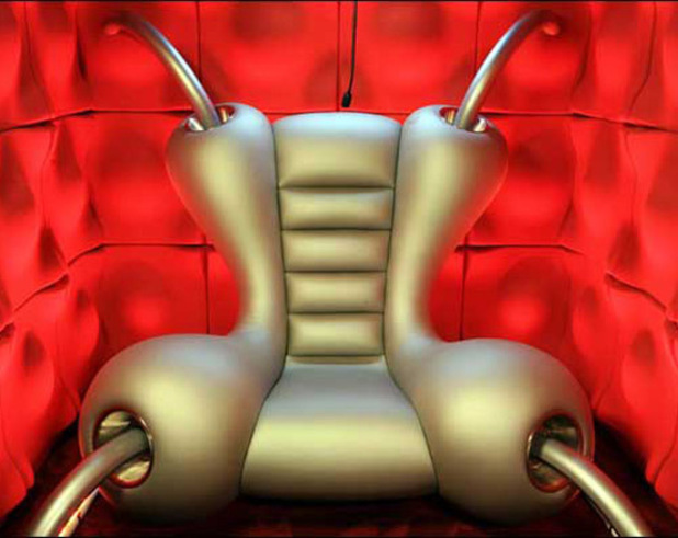 BB9 Diary Room chair