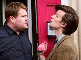 Doctor Who S05E11: The Lodger - The Doctor and Craig