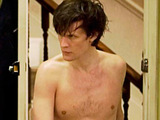 Doctor Who S05E11: The Lodger - The Doctor shirtless