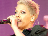 Pink performs at Sunderland Stadium of Light