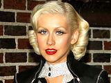 Christina Aguilera arriving at the Ed Sullivan Theater in New York City