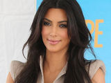 Kim Kardashian attending a magazine signing in Santa Monica for women's publication 'Shape'