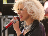 Christina Aguilera performs on the NBC's 'Today Show', New York City