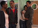 Tony's devastated when Gabby's husband Phil turns up out of the blue during this evening's Hollyoaks.