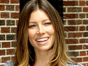 Jessica Biel admits that there were perks to being the only girl in an all male cast.